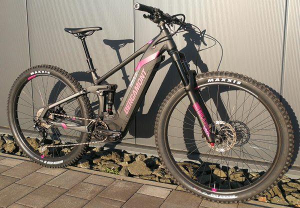 "Bergamont E-Trailster Sport FMN 29"" E-Bike MTB"